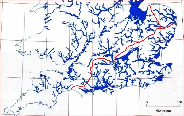 Flood Map with Greater Ridgeway